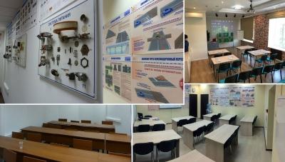 Классы с оборудованием и примерами для учеников